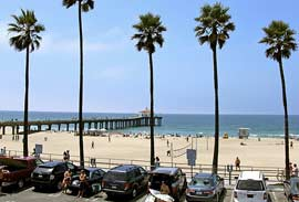 Playas de L.A: Manhattan Beach