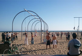 playas Santa Mónica, Muscle Beach