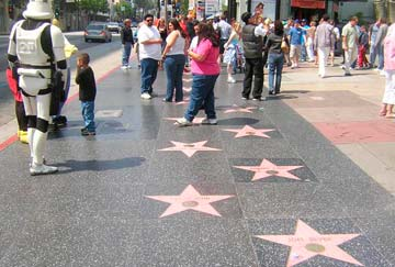 guía turismo Hollywood, walk of fame