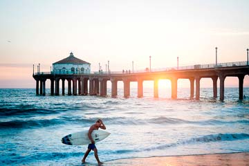 Surf en Manhattan Beach